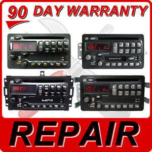 Repair Your Radio Pontiac Vibe Grand Am Prix Toyota Matrix Cd Player Disc Fix 03