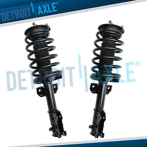 2 Front Strut Coil Spring For 2005 2006 2007 2008 2010 Ford Mustang Base Gt