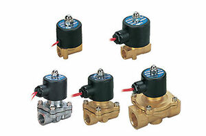 Fonray 2w250 25 ac220v Air Water Oil Gas 2 Position Solenoid Valve 1