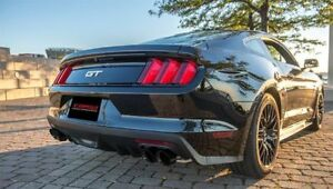 Corsa Performance 14335blk For 15 17 Mustang Gt Xtreme Catback Black Quad Tips