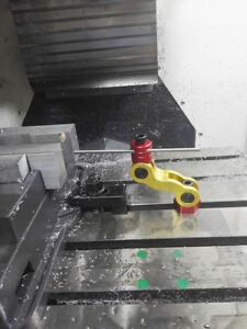5 Axis Mill vise Stop