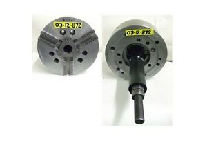 Sp 12 3 Jaw Power Chuck A 8 Spindle Mount Model 12 s 1721