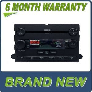 New Ford Truck Subwoofer Radio 6 Disc Cd Changer Oem 7s4t 18c815 db Stereo Mp3