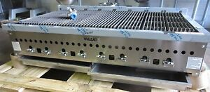 Vulcan 47 Countertop Natural Gas Charbroiler Model Vccb 47 Never Used