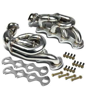 Fit 05 10 Ford Mustang Gt 4 6 V8 Stainless Shorty Racing Header Exhaust Manifold