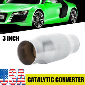 3 Universal High Flow Performance Stainless Catalytic Converter