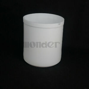 2000ml White Measuring Beaker Ptfe Teflon Silicone Laboratory Ware High Quality
