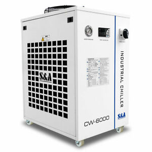 Ca 110v S a Cw 6000dn Water Chiller For Solid state Fiber Laser 22kw Cnc Spindle