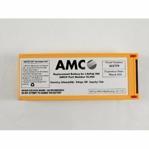 Replacement Battery For The Medtronic Lifepak 500 lp 500 Aed