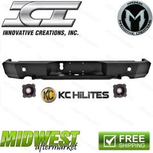 Ici Magnum Rear Bumper W Led Lights Fits 2009 2018 Dodge Ram 1500 Rebel