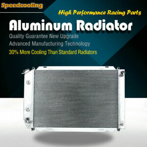 3 Row Aluminum Radiator For Ford Mustang 1980 1993 Automatic Manual