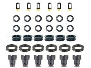 V6 Fuel Injector Service Repair Kit For Orings Filter Seal Grommets Lexus Toyota