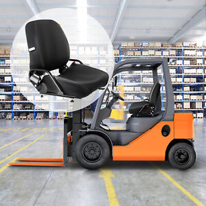 New Universal Folding Forklift Seat Foldable Seatbelt Included Fits Nissan