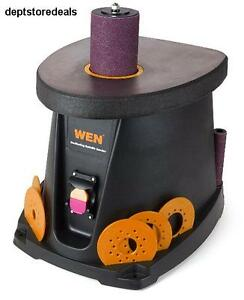 Wen Oscillating Spindle Sander 3 5 Amp 1 2 Hp Woodworking Tool Motor Opm Rpm