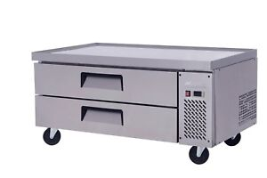 Migali C cb48 48 Refrigerated Chef Base 2 Drawers 15 Pans Free Shipping