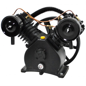 Polar Air 5hp 2 Cylinder Single Stage Air Compressor Pump