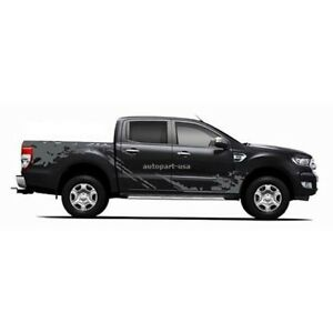 Ford Ranger T6 Triton Mazda Bt 50 Pickup 4dr Mud Wheel Style Sticker Decal