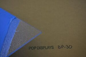 Textured Clear Acrylic Sheet Dp 30 1 4 X 48 X 24