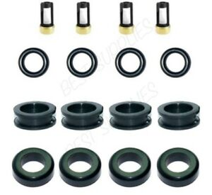 Fuel Injector Service Repair Kit O Rings Grommets Filters Seals For Mazda Miata
