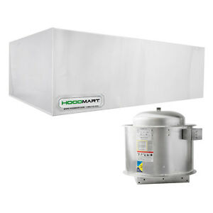 Hoodmart 8 X48 Type 1 Commercial Kitchen Restaurant Exhaust Hood System