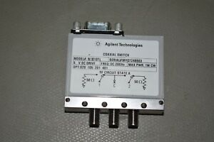 Agilent Coaxial Switch N1810tl 5v Coil Dc 20 Ghz Used