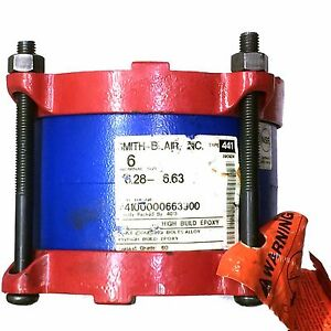 Smith Blair High Build Epoxy Type 441 990224 Flanged Coupling Adapter
