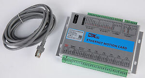 Xhc Mach3 6 Axis Ethernet Motion Control Card Cnc Breakout Board For Engraver