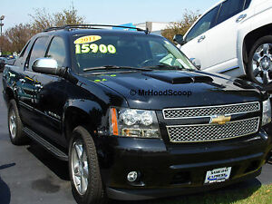 2002 2013 Hood Scoop For Chevrolet Avalanche By Mrhoodscoop Painted Hs002