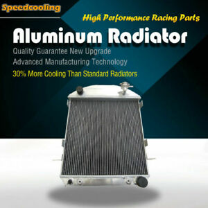 3 Rows Aluminum Radiator For Ford Model T Bucket 1917 1927 Chevy Engine
