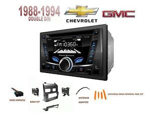 Chevy Gmc Suv Full Size Trucks 1988 1994 Car Stereo Kit Bluetooth Usb Aux Cd
