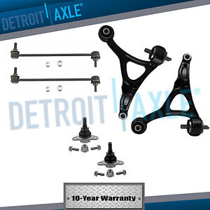 Brand New 6pc Complete Front Suspension Kit For 2003 2014 Volvo Xc90