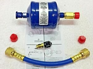 Recycle Refrigerant Recovery Unit Pre filter Hose Kit Kit B