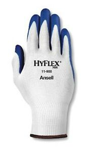 Ansell Hyflex 11 900 Nitrile Palm Coated Gloves Size 10 12 Pair 1 Dozen