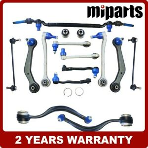 Front Rear Control Arm Suspension Kits 15pcs Fit For Bmw E38 740i 740il 750il