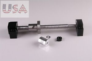 Lead Screw Ballscrew Sfu1605 l650mm End Machining 1set Bk bf12 Br Coupler