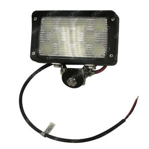 New Rectangular Led Flood Light 6 Wide X 4 Work Light For Universal Products