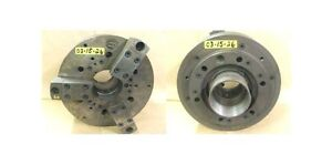 Logan 15 3 Jaw Power Chuck A 11 Spindle Mount Model S58339