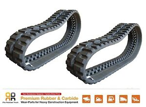 2pc Rubber Track 320x86x54 Cat 246b Daewoo 450 460 Plus Yanmar T175 Skid Steer
