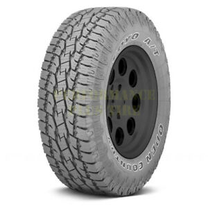 Toyo Open Country At Ii Lt275 70r18 125 122s Owl 10 Ply Quantity Of 2