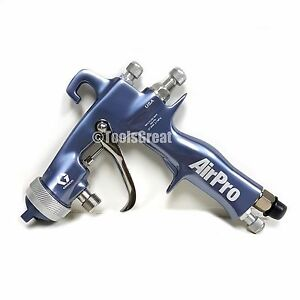 New Graco 289992 Airpro Conventional Siphon Feed Finishing Spray Gun