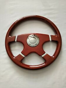 New Raptor 15 Designo 4 spoke Wood Grain Steering Wheel
