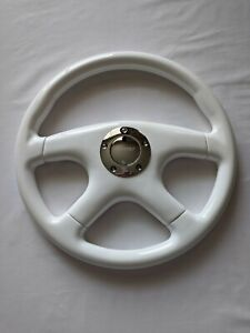 Raptor 15 White Wood Grain Steering Wheel