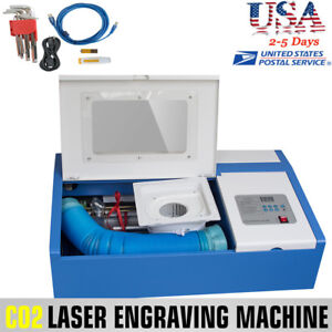 Co2 Usb Laser Engraving Cutting Machine Engraver Cutter Wood Work crafts 40w Ce