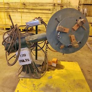 1 000 Lb Pandjiris Welding Positioner W 3 jaw Chuck Dresser 60 1 Ratio Vfd