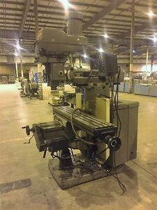 Bridgeport Series Ii 4 Hp Vertical Mill Anilam 2 axis Cnc Point point Controller
