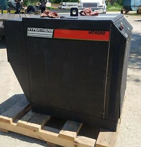 Hypertherm 400 Amp 100 Dc Ht 4000 Plasma Cutting System Master Power Source