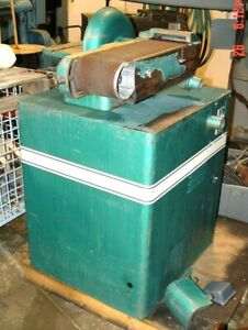 Powermatic 6 Belt X 12 Disc Sander grinder Motor 1 5 Hp 115 230v 1ph