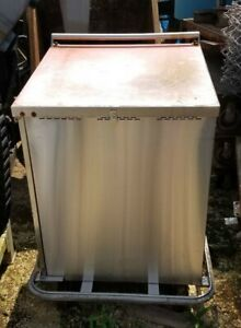 Stainless Steel 24 X 24 Food transport Cart On Wheels