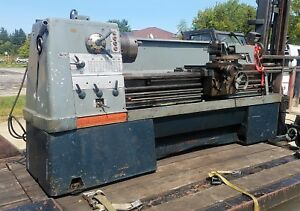 Clausing colchester Geared Head Gap Bed Engine Lathe 20 X 60 B c 30 x12 Gap