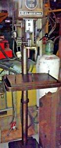 16 Clausing 1639 Floor Standing 6 Pedestal Drill Press 1 0 Hp 220 440 3 60